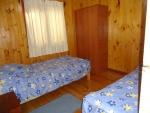 Dormitorio doble cabana 6 personas