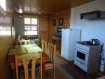 living comedor cabana 4 personas